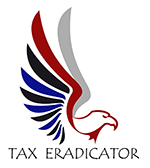Tax Eradicator Logo - Tax Preparation, Bookkeeping, Quickbooks Pro Advising Bonney Lake