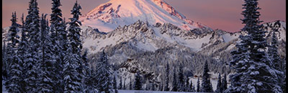 Mt Rainier at Sunrise by Tim Clifton